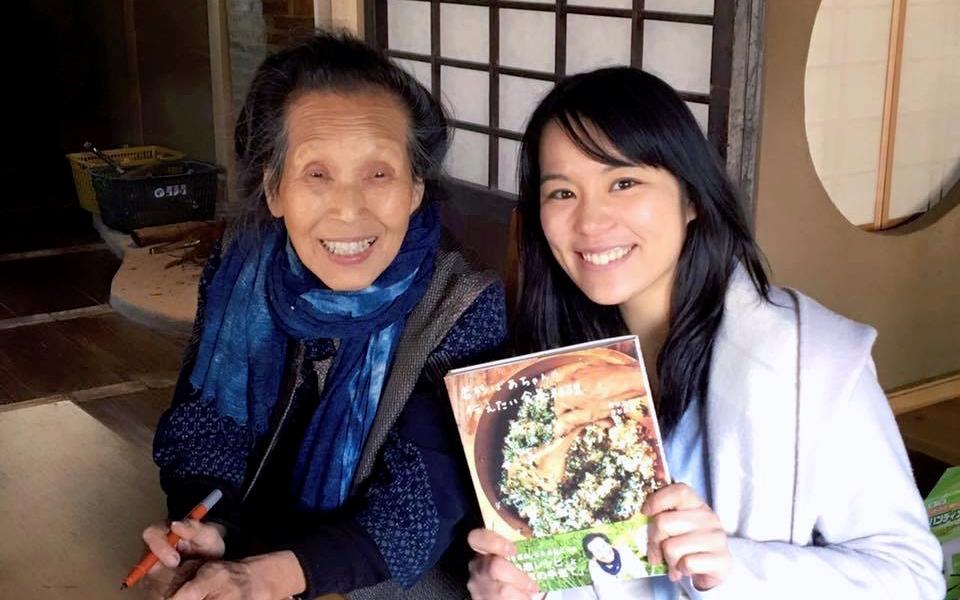 若杉ばあちゃんの野草摘みと野草料理デモ&お話会に参加してきました!