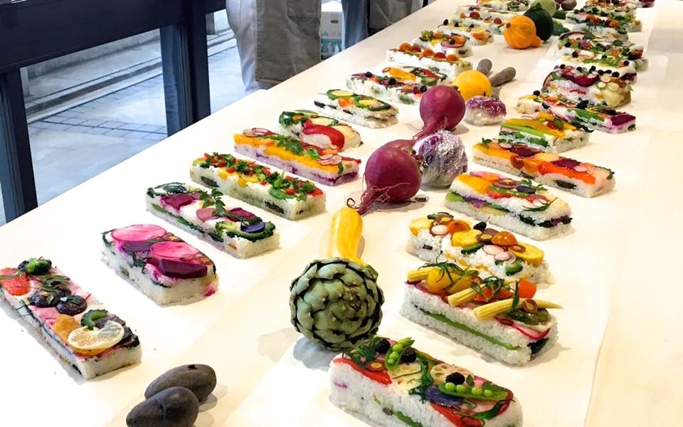 世界初開催!パリが恋した、野菜のお寿司vegesushiパーティに参加してきました。