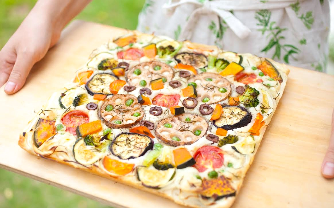 グルテンフリーでふっくらもちもち♪ 野菜たっぷり米粉フォカッチャレッスン開催のお知らせ