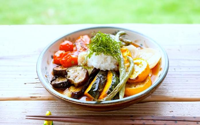 【寄稿記事】オーブンで焼いて浸すだけ!さっぱり夏野菜の焼き浸し(ヴィーガン、マクロビ)