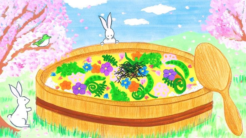【コンテスト応募作品】私がちらし寿司の絵を描き上げるまでの、どうしようもない制作秘話。